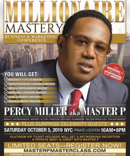 Millionaire Mastery Business & Marketing Conference PRESENTED BY